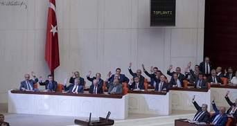 Турецький парламент підтримав введення надзвичайного стану в країні