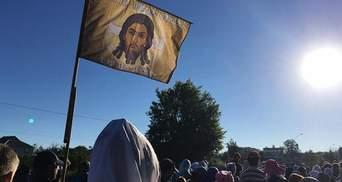 Борисполь запретил крестный ход через город