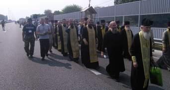 Стало известно, какая политсила защищает крестный ход в Киеве