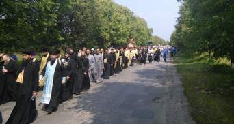 МВД вводит особый режим из-за молебна УПЦ МП
