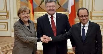Порошенко поговорив з Меркель та Олландом: деталі розмови