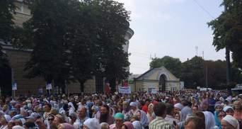 Крестный ход дошел до Лавры в Киеве