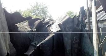 Террористы разбомбили 6 домов мирных жителей в Марьинке