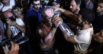 Протесты в Ереване: мужчина пытался себя сжечь