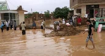 В Судані понад 100 людей стали жертвами страшної повені