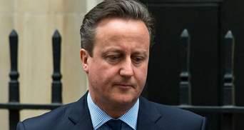 Бывший премьер Великобритании отказался от депутатского кресла