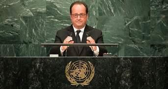 """Олланд анонсував зустріч """"нормандської четвірки"""""""