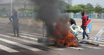 Появились фото беспорядков в Конго, которые забрали полсотни жизней
