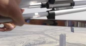 Украинец выбросил iPhone 7 из самого высокого здания мира