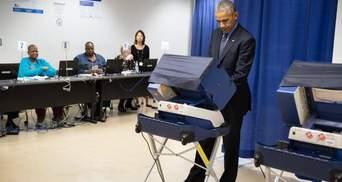 Фотофакт: Обама вже проголосував