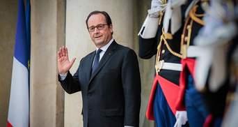 Олланд виступив за вибори на Донбасі навіть без контролю з боку України