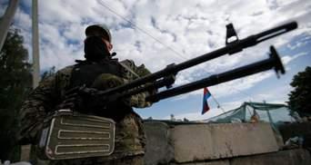 """Террористы из минометов обстреляли пункт """"Марьинка"""""""