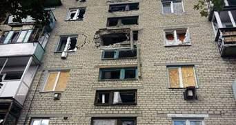 Террористы обстреляли квартиру мирных жителей в Попасной и Марьинке