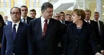 Без Путіна. Порошенко, Меркель та Олланд звірили формат виконання мінських угод