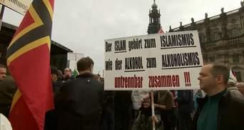 Несколько тысяч антиисламистов собрались на митинг в Германии