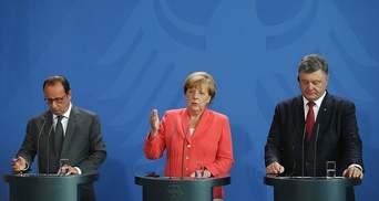 Порошенко та Меркель домовились про зустріч у Нормандському форматі