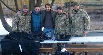 Сергій Притула зробив незвичний подарунок українським армійцям