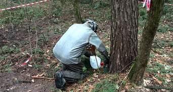 Целую банку ртути нашли в парке в Черкассах