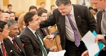Саакашвілі заявив, про що готовий говорити з Порошенком
