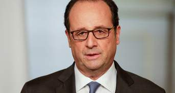 Олланд хоче поговорити з Трампом про Україну