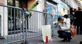 Французи вшановують пам'ять жертв кривавих терактів у Парижі