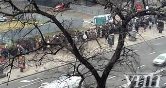 В Киеве снова митинг