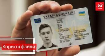 Корисні файли. Як отримати внутрішній ID-паспорт