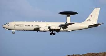 За ракетными учениями Украины возле Крыма следил самолет НАТО