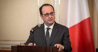 Олланд отказался бороться за кресло президента