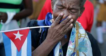 Портрети, квіти і сльози: як Куба прощалась з Фіделем Кастро