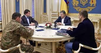 Порошенко розповів, кого покарають через загибель поліцейських під Києвом