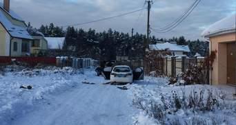 Депутат опублікував фото розстріляної машини держохорони: видно промовисті деталі