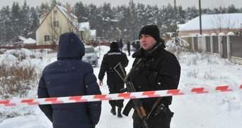 Перестрілка поліції під Києвом: полетіли перші голови