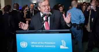 Новий генсек ООН Антоніу Гутерріш: Наш найсерйозніший недолік – нездатність запобігти кризам