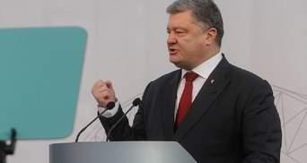 Порошенко заявив, що на фронті воюють тільки воїни-контрактники