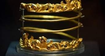 Когда скифское золото можно будет увидеть в Украине: в Минюсте сделали прогноз