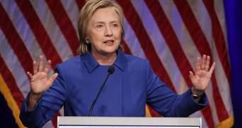 Клінтон розповіла, як Путін вплинув на її поразку
