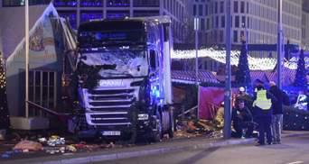 Задержан водитель фуры, которая протаранила ярмарку в Берлине