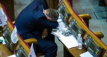 Після бюджетної ночі нардепи взяли вихідний, а Кабмін переніс засідання