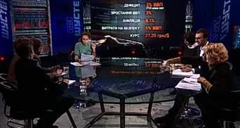 Кужель облила водою Мосійчука в прямому ефірі: з'явилось відео