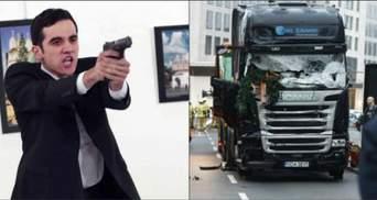 Дві трагедії. Топ-5 публікацій про вбивство посла Росії та теракт у Берліні