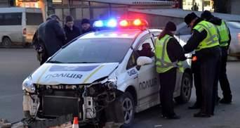 Поліцейські за рік потрапили у понад півтисячі ДТП
