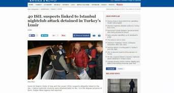 Туреччина затримала росіян, які ймовірно причетні до теракту у Стамбулі