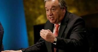 Світовому порядку загрожує серйозна небезпека, – генсек ООН