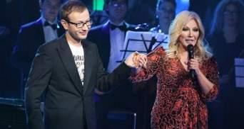 Повалий похвасталась, что ее сын лидирует в украинском отборе на Евровидение
