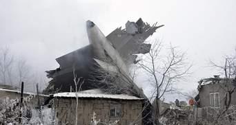 Существенно возросло число погибших в катастрофе самолета в Киргизии