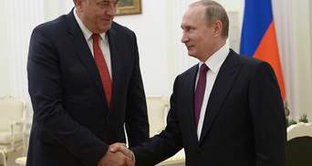 США ввели санкції проти проросійського лідера Республіки Сербської