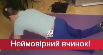 Поступок, достойный уважения: мальчик с ампутированными конечностями присоединился к известному флешмобу