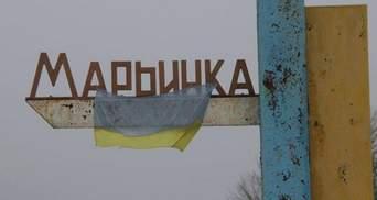 Боевики обстреляли школу с детьми в Марьинке