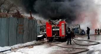 Масштабна пожежа у Києві: опублікували нові фото та подробиці